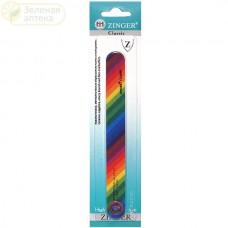 Zinger пилка прямая для натуральных и искусственных ногтей 150-220 АA-307